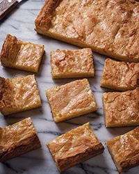 Perfect for a tailgating party, classic chess pie is transformed into addictive bar cookies in this simple recipe.