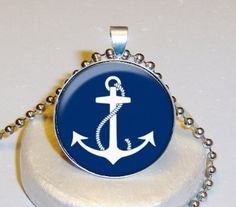 Anchor Necklace $5.00 - Personalized With Your Image $10.00 at www.pifs.etsy.com