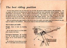 Raleigh care of your cycle handbook by Mark Gell, via Flickr