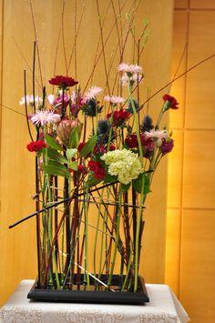 constructions flower by Shiu floral design, via Flickr
