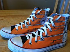 Custom Painted Converse Chuck Taylor Shoes [Muse - Origin of Symmetry] i really want this shoes