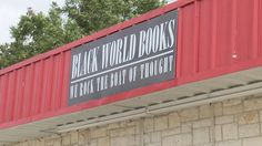 Black World Books, Killeen, Texas Killeen Texas, Garage Doors, World, Outdoor Decor, Books, Black, Home Decor, Libros, Decoration Home