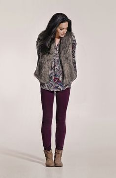 443d4f1347d A faux fur vest is the ultimate wardrobe addition. Layer it over a printed  blouse for a casual chic look. Diana Ferrari