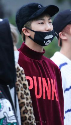 Rap Monster ❤ BTS Arrival at Music Bank #BTS #방탄소년단