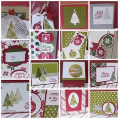 Merry Moments for Christmas in July Class at Stamp with Marilyn