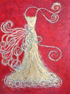 Golden Gown VI   Art. Passion. ZsaZsa Bellagio