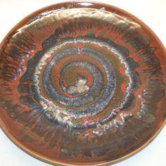 Platos decorativos en cerámica gres