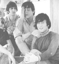 Ringo, Paul, and John