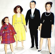 Littlechaps Family Dolls Toys by Remco from 1963.    Remco's answer to Barbie was found in these Wonderful and quite realistic Littlechap Dolls. The Father is Dr. John with his wife Lisa, daughters Judy ( Oldest) and Libby ( youngest).