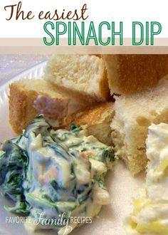 Easiest Spinach Dip