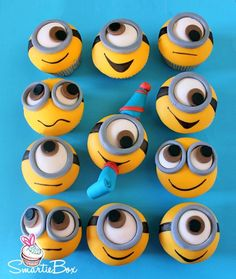 Best 25 Minion Cupcakes Ideas On Pinterest Kids