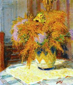 Bouquet of Flowers Pierre-Eugène Montézin