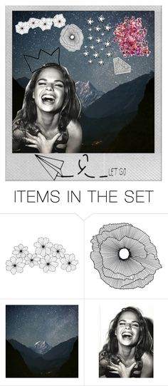"""""""Let it go"""" by splash-of-collor ❤ liked on Polyvore featuring art"""