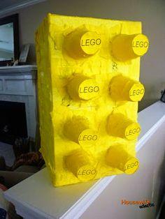 Lego Birthday Party (ideas for pinata, cake & decor)