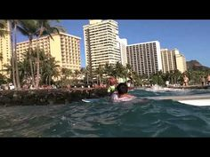 30 Seconds in the Water on Waikiki Beach | Honolulu, Hawaii | Produced by Jim Albritton | http://newsocracy | A brief look from the water at Waikiki Beach in Honolulu, Hawaii. See all our Hawaii stories at http://newsocracy.tv/hawaii-yall.