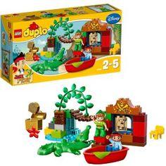 Lego Duplo 10526 Jake Et Les Pirates Du Pays Imaginaire : La Visite De Peter Pan à 24,00 € chez 3Suisses #lego #duplo #jouet