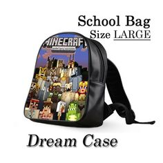 Minecraft Xbox 360 - for school bag large | DreamCase - Bags & Purses on ArtFire