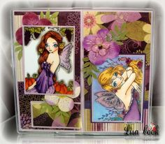 Fairy Checkbook Cover by busysewin - Cards and Paper Crafts at Splitcoaststampers