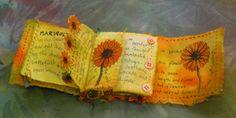 Frances Pickering - Textile Artist - Fabric Books