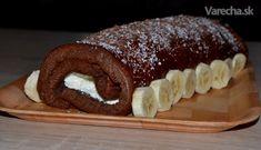 Diétna banánová roláda bez múky