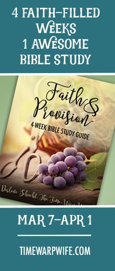 4 Faith-Filled Weeks - One Awesome Bible Study.  And coloring pages!