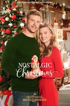 hallmark movie Its a Wonderful Movie - Your Guide to Family and Christmas Movies on TV: Nostalgic Christmas - a Hallmark Movies amp; Mysteries Miracles of Christmas Movie starring Brooke DOrsay and Trevor Donovan! Family Christmas Movies, Hallmark Christmas Movies, Christmas Shows, Christmas 2019, Holiday Movies, Chrismas Movies, Xmas Movies, Family Movies, Cozy Christmas