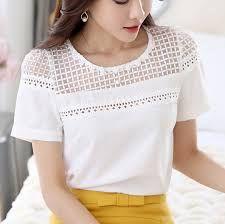 Résultats de recherche d'images pour «blouse blanche dentelle»