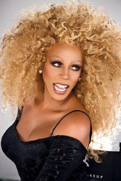 Rupaul #fierce, as a sexy blonde