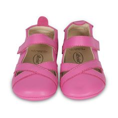 Old Soles Girls Mary Jane Criss Cross, Pink