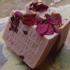 Geranium Soap Natural handcrafted #Soap