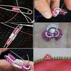 Brilliant Cross Stitch Embroidery Tips Ideas. Mesmerizing Cross Stitch Embroidery Tips Ideas. Tatting Patterns, Lace Patterns, Embroidery Patterns, Crochet Patterns, Filet Crochet, Irish Crochet, Crochet Stitches, Needle Tatting, Tatting Lace