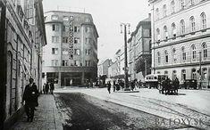 Ulice a námestia - Metropol - Pohľady na Bratislavu Bratislava Slovakia, Genius Loci, Street View, Times, Nostalgia, Inspiration, Movie Theater, Biblical Inspiration, Inhalation