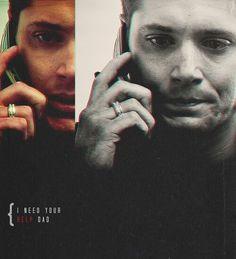 Jensen Ackles as Dean Winchester 1x9