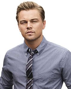 Tie bar sighting...Leading Man: Leonardo DiCaprio: Celebrities: GQ