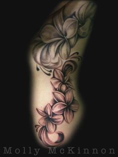 black and white plumeria tattoo google search tattoos pinterest the bubble flower. Black Bedroom Furniture Sets. Home Design Ideas