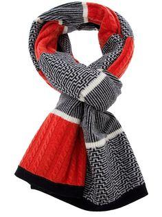 GT knit scarf long -- Henrik Vibskov, Fall 2012