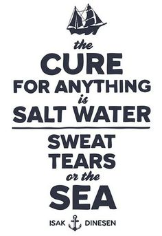 Salt Water Cure-All Canvas Print