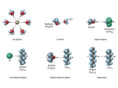 intermolecular force example diagram - Google Search