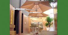 Ombrelone de parede - Wallflex 2,70 D  R$ 2.233,00  em 4x de R$ 558,25 sem juros  ou 10% de desconto à vista R$ 2.009,70 !     Ombrelone de parede,com diâmetro de 2,70m, composto de: Braço master 1,85 m, Cobertura parasol, com sistema diferenciado de fixação, podendo ser feita, diretamente na parede, evitando os incômodos pilares.  Fácil de manusear, tem um braço em alumínio anodizado, bi-direcional,que pode ser orientado para o melhor aproveitamento da sombra.