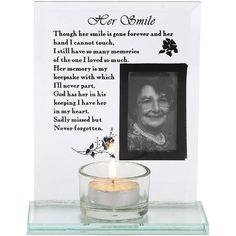 Loss of Loved One Bereavement Present Sympathy Remembrance Gift Those We Love Memorial Candle with Keepsake Token or Charm Fall Decor