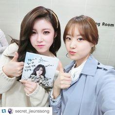 secret´s jun hyosung and song jieun