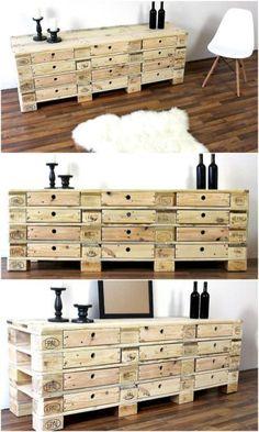 Attractive diy wodden pallet furniture projects (13)