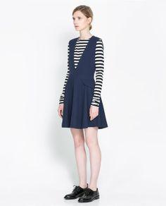 PINAFORE DRESS - Dresses - Woman | ZARA United Kingdom