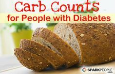 For people�with diabetes, counting carbohydrates is essential to blood sugar control. Refer to these charts to find out how many carbs are in various everyday foods. via @SparkPeople