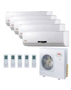9+9+9+9+9K YMGI Indoor Units. Multi-zone Mini Split AC allow you to enjoy ideal levels of comfort in the rooms you use most. YMGI Five Zone Ductless Mini Split Air Conditioner Heat Pump 208-230V 16 SEER DC Inverter. Price: $3,797.00 ex. tax. Call us 305-767-0610 or visit our website. Mini Split Ac, Heat Pump System, Ac Units, Air Conditioners, Home Upgrades, Wall Brackets, Heating And Cooling, Energy Star, Ahmedabad