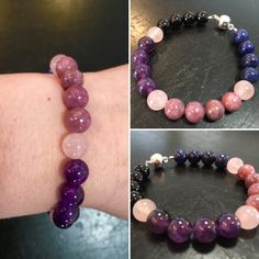 Depression, Anxiety, Mood Disorder, & Stress Bracelet (boost of Love) - New Moon Beginnings - 5