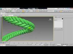 O site MMasterbrock publicou um ótimo vídeo tutorial sobre modelagem no 3ds max, explicando como criar uma trança com linhas e modificadores igual as usadas em bolças e móveis, também ensina a posicionar com o Path Deform.