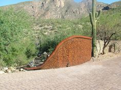 Private Property, Tucson, Outdoor Furniture, Outdoor Decor, Metal Art, Hammock, Fence, Snake, Sculptures