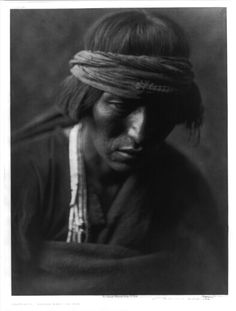 "thebigkelu: ""Hastobiga, Navajo Medicine Man - Curtis - 1904 """