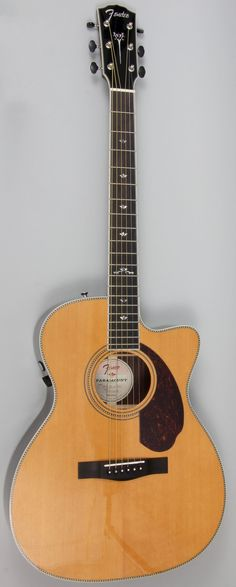 Fender PM-3 Deluxe Triple O Paramount Acoustic Electric Guitar